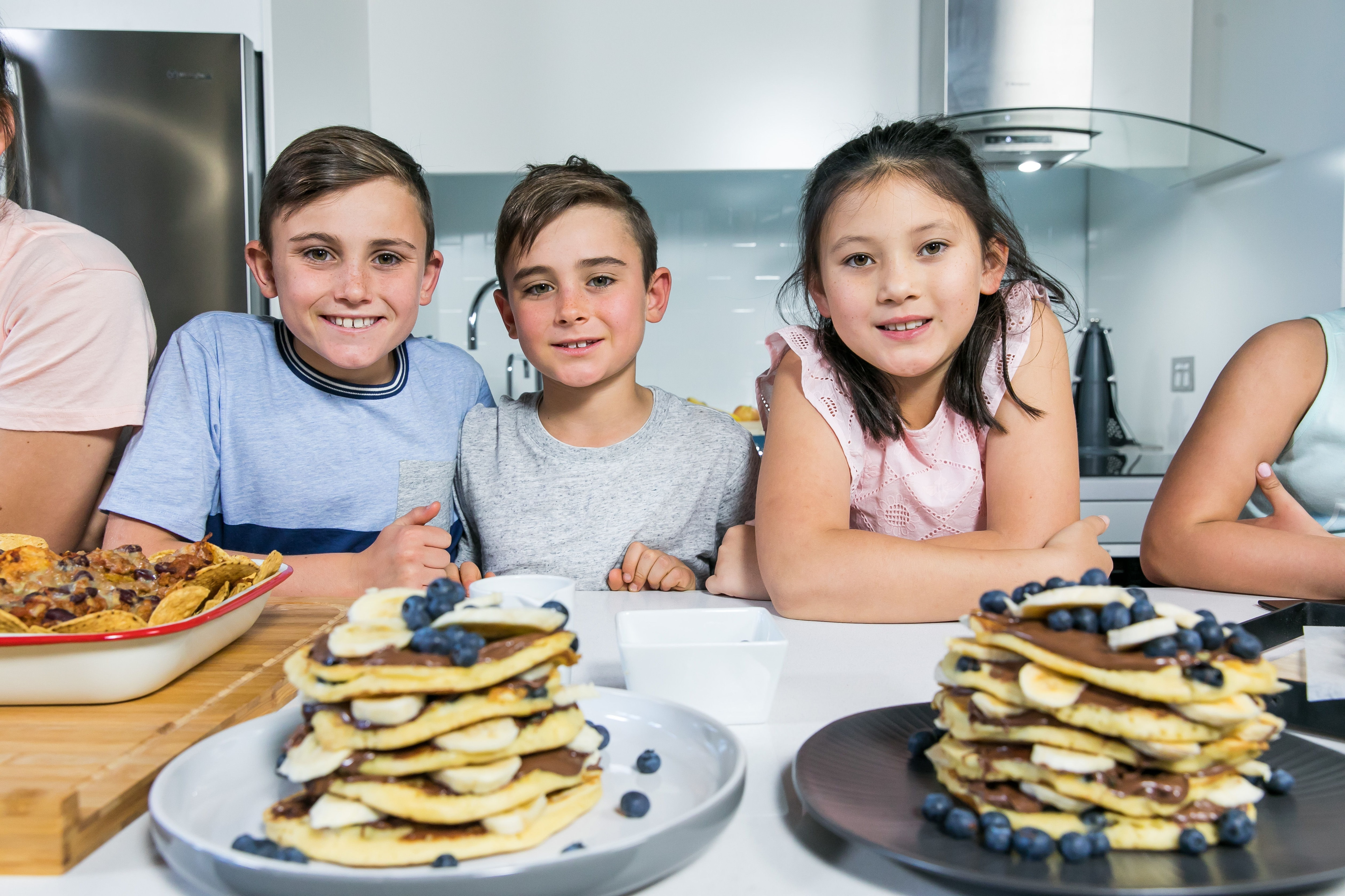 Gooey Chocolate Pancakes Recipe