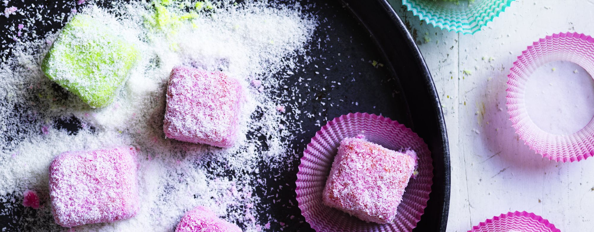 Little Jelly Lamingtons Recipe